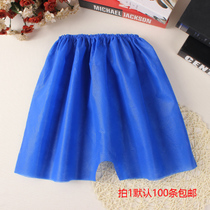 Man's Blue Disposable Nonwoven Underwear Hotel