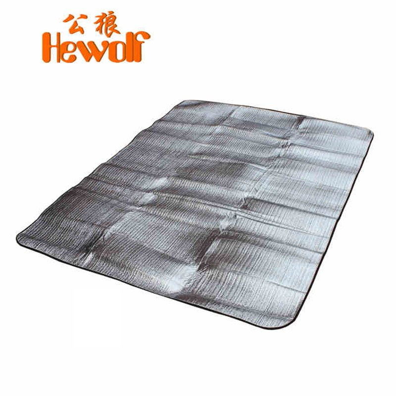 Waterproof Picnic Cushion Camping Cushion Tent Wet Cushion with Thickened and Widened Aluminum Film