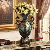 Lucky European Floor large vase French high-grade flower decoration room bedroom living decorations