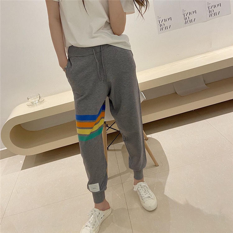 Thom browne 2021tb autumn winter new body-槓 four-way casual little leggings pants