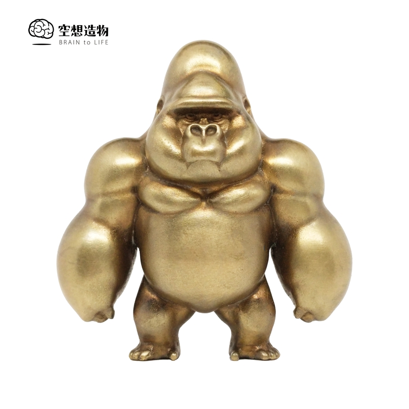 Spot Standing Orangutan No. 2 Uncle Ma wants to create brass pendant collection model gifts