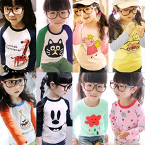 Girls boys children girls cotton baby autumn bottoming shirt