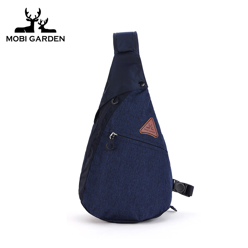 Mobigarden outdoor wild riding fashion travel city business shoulder Messenger backpack unisex