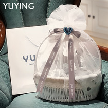 Newborn gift box baby clothes autumn and winter set high-end boy baby supplies just born full moon gift