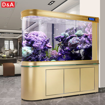 Germany Dirk large bullet fish tank living room home bottom filter ecological fish tank free water lazy aquarium