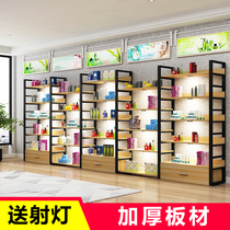 Shelf display rack cosmetic display cabinet shelf display cabinet free combination removable shoe store container