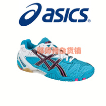 US authentic Essix ASICS Gel Blast 5 badminton shoe Wall sneakers female Blue