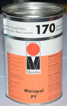 Malaibao ink PY170 special white screen printing Pad printing ink Metal ink Spraying ink screen printing