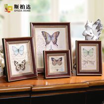 Sibaida European-style wood frame table 4 inch 6 inch 7 inch 10 inch swing box combination wall hanging photo frame