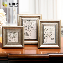 Creative style photo frames set wall 4 inch 6 inch 7 inch photo frame photo frame-style picture frame combination