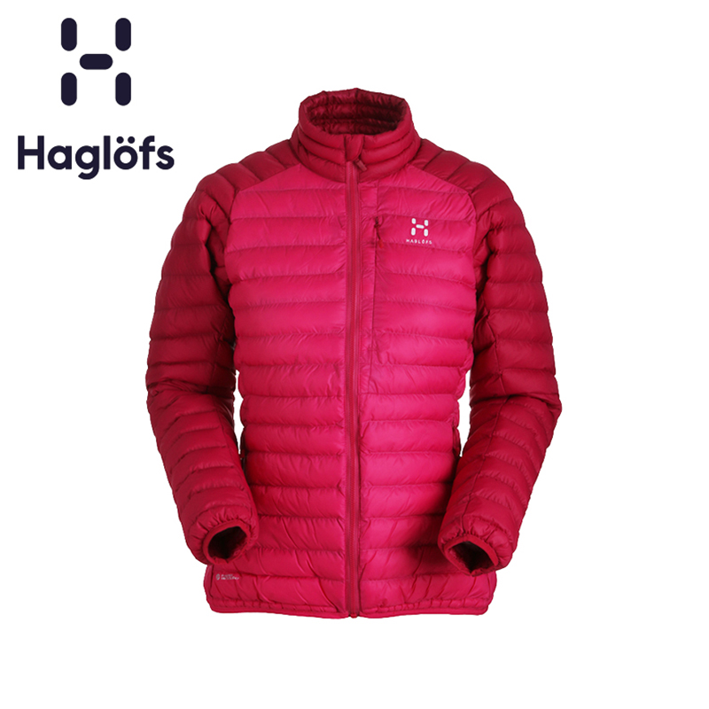 Haglofs Match Stick Women's Clothes Autumn and Winter Outdoor Cotton Clothes Women's Breathable, Wind-proof, Moisture-permeable and Warm-keeping Coat 603157