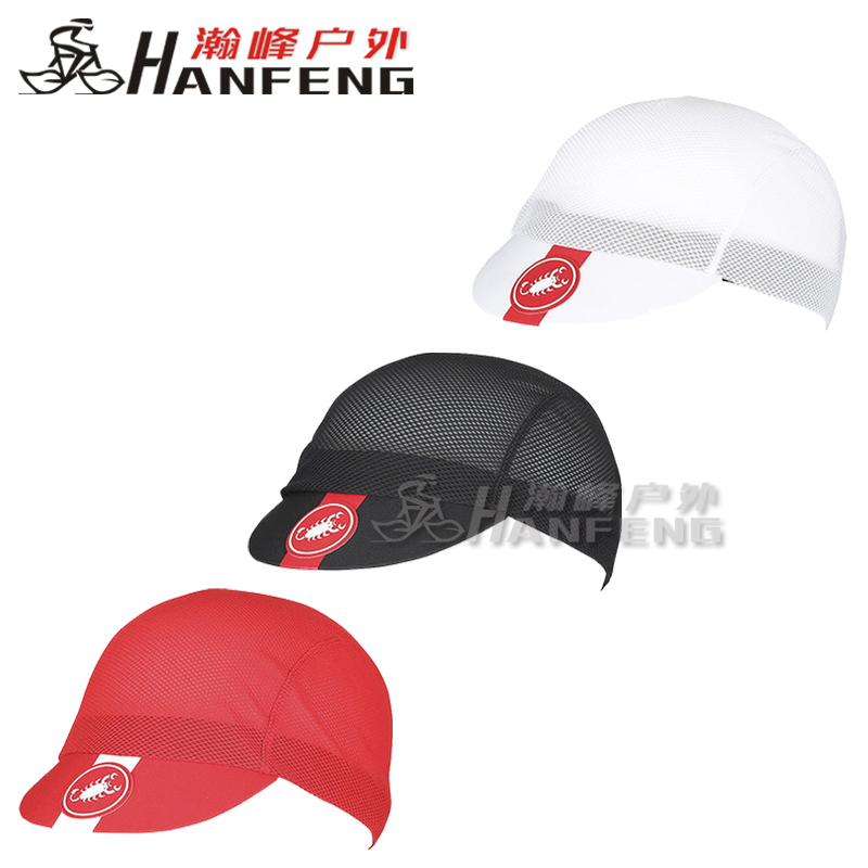 Genuine 19 Scorpions Castelli AC CYCLING Summer Men's and Women's Riding Caps Breathing
