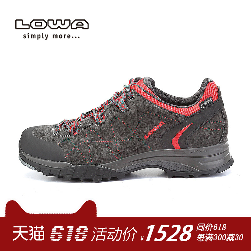 LOWA official authentic outdoor waterproof walking shoes FOCUS GTX men's low shoes L210715 026