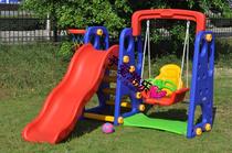 三合一多功能滑梯秋组合 秋千家庭滑梯 儿童秋千滑梯组合