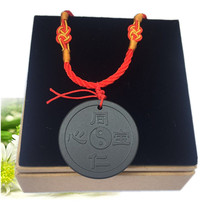 Hot recommended colleagues heart treasure to send parents to protect the heart treasure peace pendant mineral stone gift
