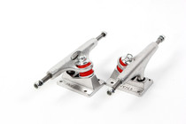 Genuine insist four-wheel double-warp skateboard bridge professional lightweight single double hollow pair of bridge bracket wheel Accessories