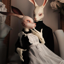 (Discontinued)DolZone Obitaro 4 points 3 points BJD doll Rabbit head Uncle official original SD doll