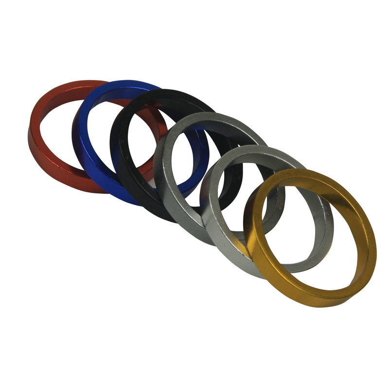 JCSP 坚士 n-035 color aluminum alloy CNC gasket bowl front fork washer / gasket gasket 5mm
