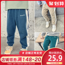 Boys trousers spring childrens spring and autumn childrens clothing baby spring casual pants boys trousers childrens sports pants
