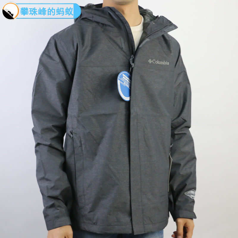 Columbia Colombian genuine men's outdoor waterproof jacket in spring and summer of 2019 RE1033