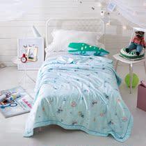 Детское одеяло tinsegon атласная летом прохладно летом прохладно детский сад дремлет кондиционер детские тонкие кроватки