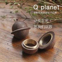 Pet Ashes Jewelry Souvenir | Q Planet Meow star Wang Xing man pendant | Cat dog hair TOOTH collection