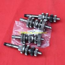 Qingqi Suzuki Junchi GT125 QS125-5ABCGHGF Main and auxiliary shaft assembly gear Euro II Country III