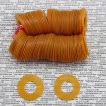 Textile machines tambour fil inversé fil de laine locomotive accessoires broches en cuir anneau en caoutchouc anneau élastique