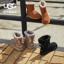 UGG autumn winter new womens snow boots casual classic Belle bow boots 1119512