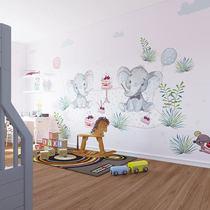 Tsingyang mural childrens room full house custom cute daughter room background wall boy cartoon design wall cloth