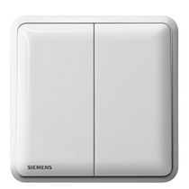 Siemens dual-switch double-cut switch socket panel Ruibai home power wall switch