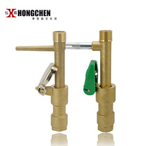 Hirosaki 6 minutes Fast water intake device one inch brass access valve convenient body valve key landscaping irrigation
