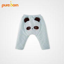 Pureborn warm leisure baby fall winter men and women pp pants