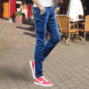 Autumn stretch jeans and casual male cashmere slim pants and a trend of Korean BOYS PANTS