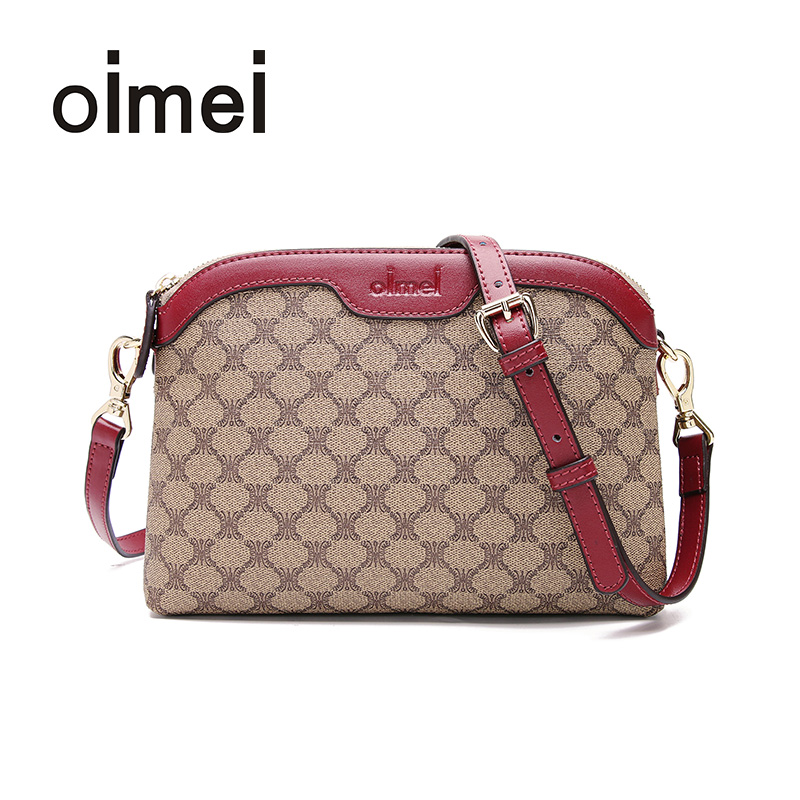 Oimei shell Lady Bag NEW oblique bag lady bag mini-Korean version simple 100-pack bag single shoulder bag PVC