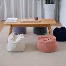 Simple cotton hemp Hose fill cushion minimalist modern Nordic wind floating window mat floor Pier Futon
