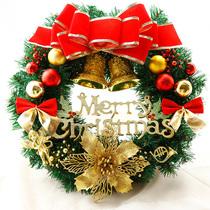 Christmas wreath 30CM40 50 60CM New Year decorations Christmas door hanging Christmas tree wreath ornaments