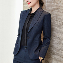 High-end professional clothing temperament goddess Fan president suit suit female spring and autumn lady dress manager overalls suit suit