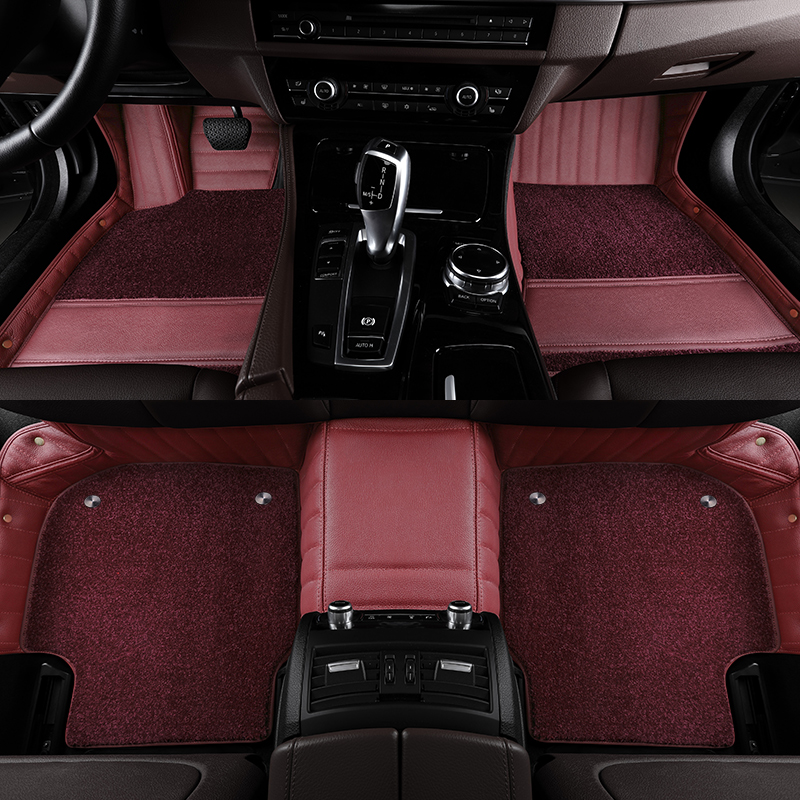 The BMW5 Series 530li X3 X5 7 Series 740li X6 X4 X7 6 Series GT leather car footrests are fully enclosed