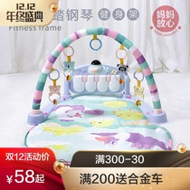 Newborn baby 0-1 year old puzzle ringing infant baby early teach 3-6-12 months little boy girl toys