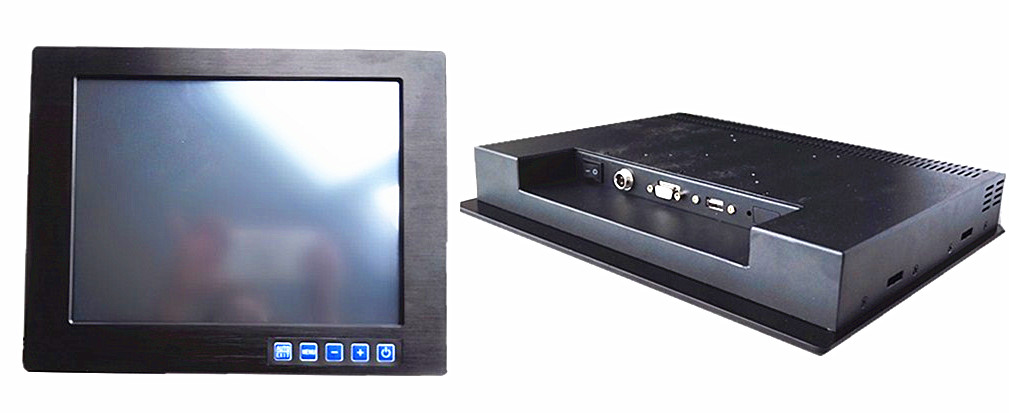The VGA/DVI/AV of 12.1-inch Embedded Industrial Display Panel in Wuhan, Hubei Province can be 1024*768