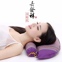 Old-age cervical pillow candy pillow buckwheat shell pillow hard pillow adult pillows Pillow Care pillow protection