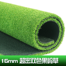 12MM High density professional golf double color green grass artificial turf artificial green project simulation lawn