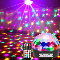 Lights flashing lights string lights starry colorful discoloration KTV bar bedroom romantic room layout decoration atmosphere lights