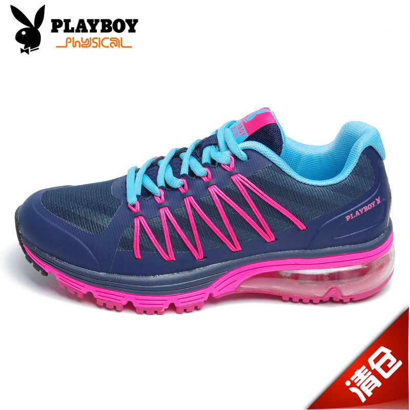 PLAYBOY/Playboy children's shoes authentic ladies lace wear cushion shoes female sports tourism running shoes female