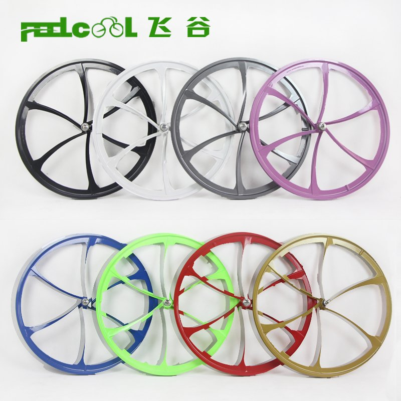 Magnesium-Aluminum Alloy Six-Knife Wheel of Dead Flying Car 26-inch 700C Integrated Wheel Set Bicycle Road Wheel 6-knife 5-knife Wheel