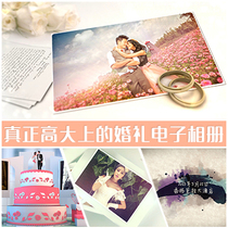 High-end wedding video opening MV production love growth Thanksgiving parents birthday Graduation Logo deduction