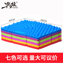 Hyatt acupressure foot massage pad small bamboo shoots home Super pain version of the run Brothers toe toe pressure plate