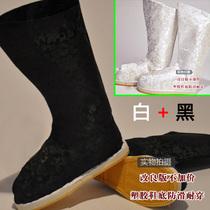 Costume bottes dragon bottes Antique hommes et femmes bottes Han dynastie Qing Dynastie Bottes Accessoires Chaussures Empereur Reine chaussures