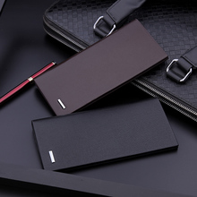 Men's Wallet, Men's Trend Brand, Thin Type, 2019 New Type, Long Type, Ultra Thin Youth Card, Wallet, Student's Personality Trend is Simple